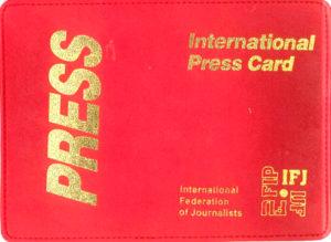 Carte De Presse Internationale Federation Nationale Des Communications Fnc Csn