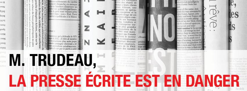 Crise des médias: la FNC-CSN lance une campagne publicitaire pour interpeller le gouvernement Trudeau